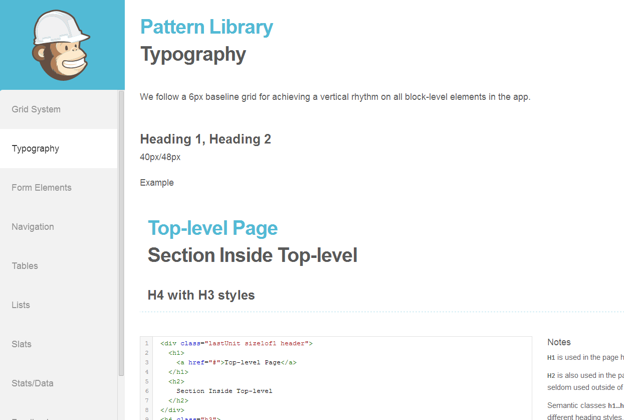 pattern_library_mailchimp